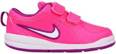 Nike Dívčí tenisky Pico 4 PSV white/pink - růžové