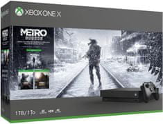 Microsoft Xbox One X 1TB + Metro Trilogy Bundle