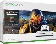 Microsoft Xbox One S 1TB + Anthem: Legion of Dawn Edition