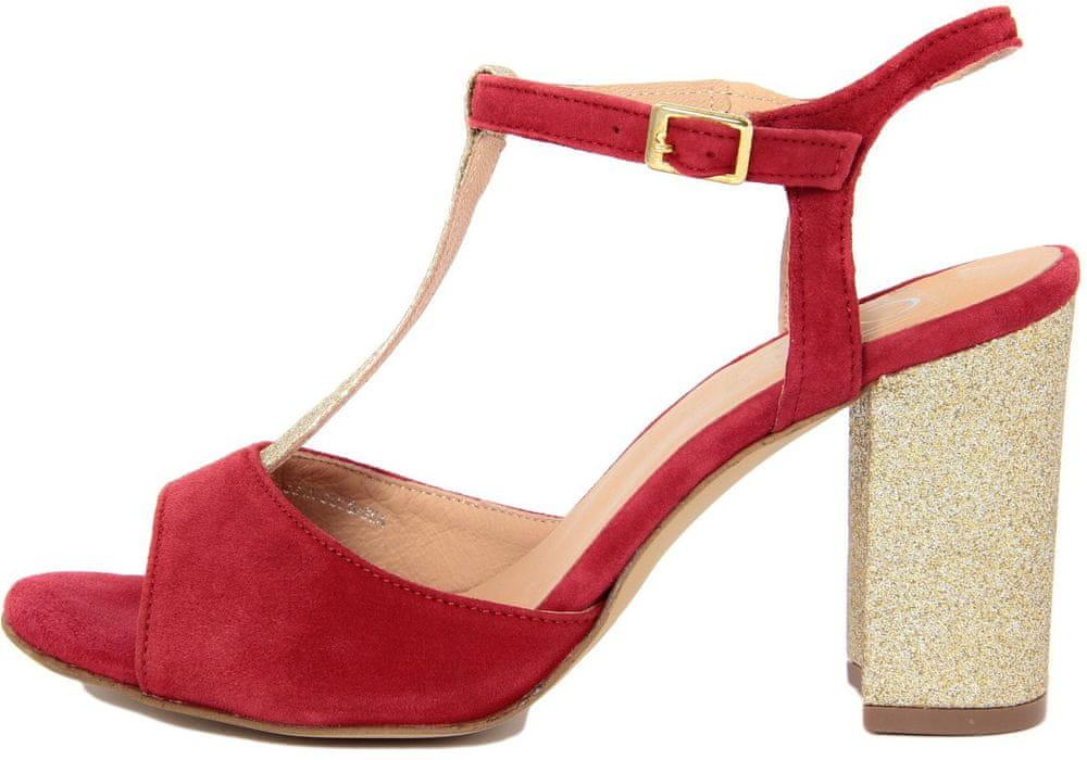Eye dámské sandály 39 červená