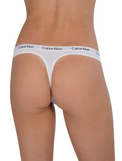 Calvin Klein 3 PACK - női tanga alsó QD3587E-WZB