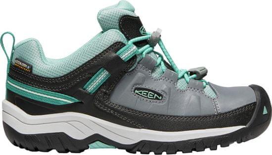 KEEN dječje trekking cipele Targhee Low WP, zeleno-sive