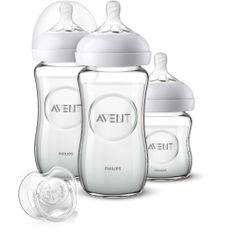 Philips Avent steklenička za dojenčke Newborn, steklena