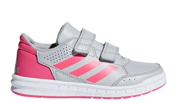 3fa0d218e96 Adidas dívčí tenisky ALTASPORT CF K - šedé 28 šedá