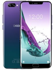 Doogee Y7 Plus, 6 GB / 64 GB, Aurora Blue