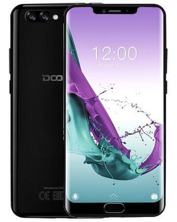 Doogee Y7 Plus, 6 GB / 64 GB, Obsidian Black