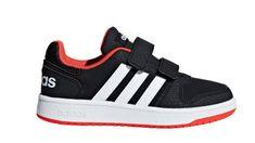 Adidas chlapecké tenisky HOOPS 2.0 CMF C - černé 53ed8a6335b
