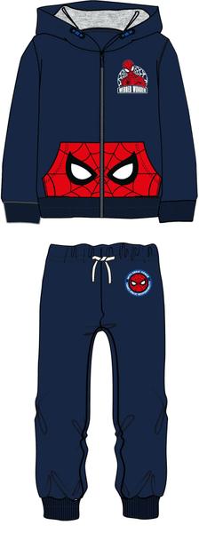5c2b8b14db5 Disney by Arnetta chlapecká tepláková souprava Spiderman 104 modrá