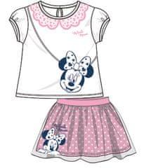 Disney by Arnetta dekliški poletni komplet Minnie, 98, roza