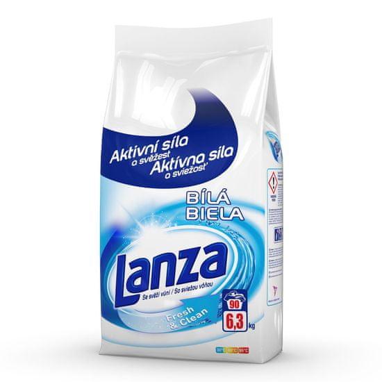 Lanza Fresh&Clean na bielu bielizeň 6,3 kg / 90 pracích dávok
