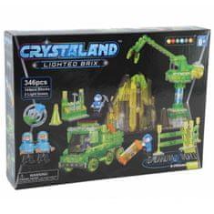 CrystaLand Crystal kocke rudnik, 346 kos