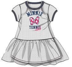 Disney by Arnetta dievčenské šaty Minnie, 140, biela