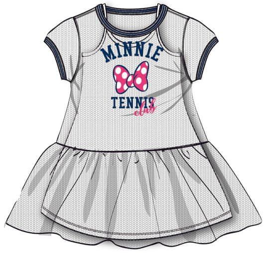 Disney by Arnetta dievčenské šaty Minnie