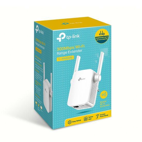 TP-LINK TL-WA855RE 300 Mbit/s WiFi Range Extender