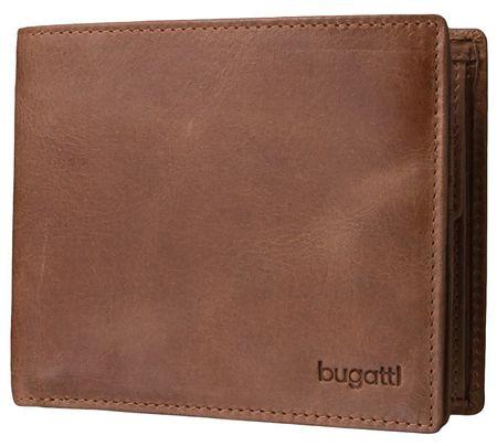 BUGATTI Pánska peňaženka Volo 49217807 Cognac