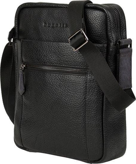 BUGATTI Męska crossbody bag Citta 49304101 Black