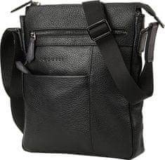 BUGATTI Męska crossbody bag Citta 49304401 Black