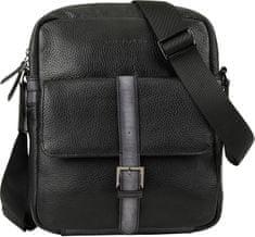 BUGATTI Męska crossbody bag Citta 49304501 Black