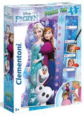 Clementoni Puzzle Double Fun – Ledové Království