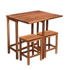 Butlers SIT & SUN Balkónový set se 2 stoličkami