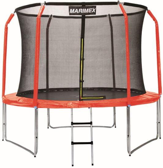 Marimex Sada krytu pružin a rukávů na trampolínu 244 cm - červená