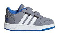 b9caf1cf381 Adidas chlapecké tenisky HOOPS 2.0 CMF I - šedé