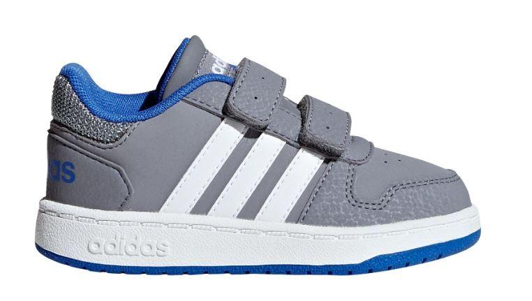 Adidas chlapecké tenisky HOOPS 2.0 CMF I - šedé 22 šedá 506f8dffb91