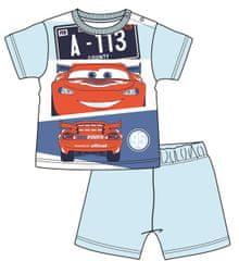 Disney by Arnetta chlapčenské pyžamo Cars, 68, svetlomodrá