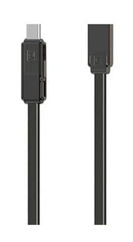 REMAX 3v1 univerzální kabel RC-070th AA-7069 - černý
