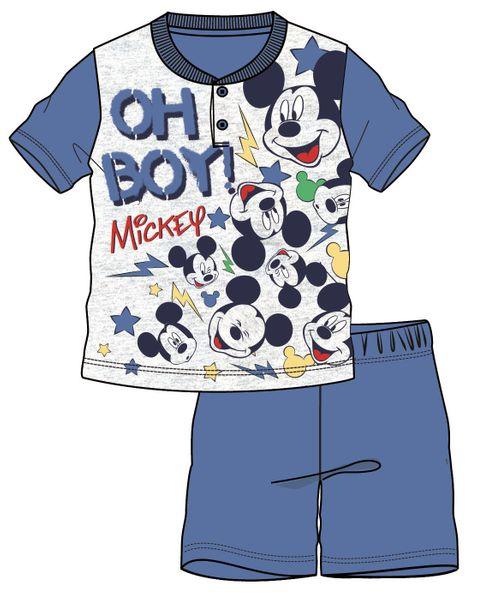 Disney by Arnetta chlapecké pyžamo Mickey Mouse 110 modrá