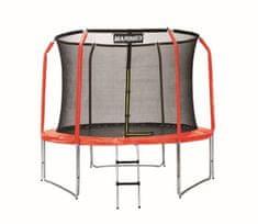 Marimex Sada krytu pružin a rukávů na trampolínu 305 cm - červená