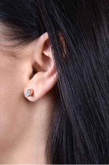 Calvin Klein Aranyozott fülbevaló kristály Brilliant KJ8YJE140100