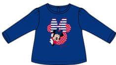 Disney by Arnetta dievčenské tričko Minnie 86 modré