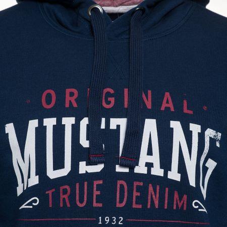 ac9919bf5b Mustang férfi pulóver Printed M sötétkék | MALL.HU