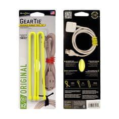 Nite Ize gumijasta vezica Gear Tie, 30cm, 2 kos, rumena
