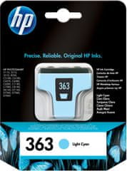 HP Náplň č.363 - Svetlo azúrová (C8774EE)