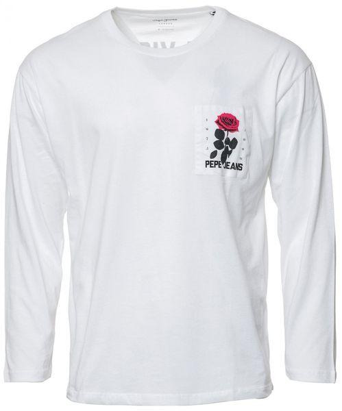 Pepe Jeans pánské tričko Kent L bílá 33cbfc3b26