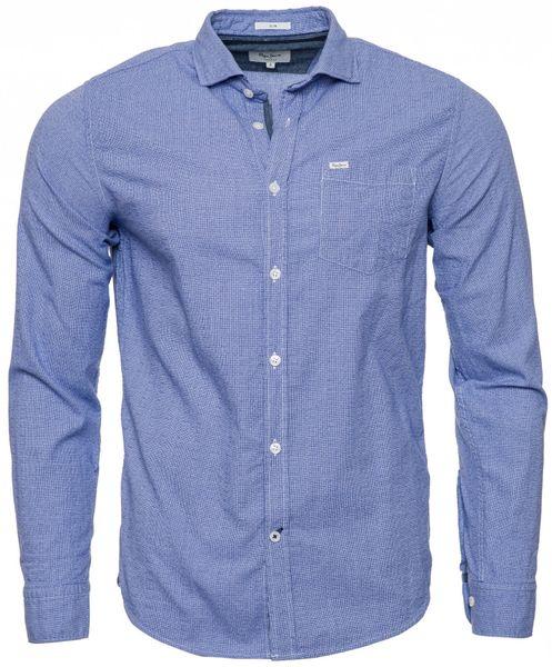 Pepe Jeans pánská košile Frank L modrá 3a5ee46997