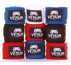 VENUM Boxerské bandáže značky VENUM - 2,5 m - Bílé