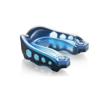 50cb88105d2 SHOCK DOCTOR Shock Doctor GEL MAX - chránič zubů - ČERNO   MODRÝ 6103A