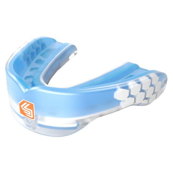 6eac67eb404 SHOCK DOCTOR Shock Doctor Gel Max Power - chránič zubů Trans Blue