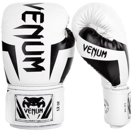 VENUM Boxerské rukavice VENUM ELITE - bílo černé  c6082cad23