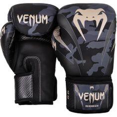 VENUM Boxerské rukavice VENUM IMPACT - maskáčové