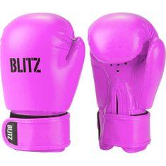 Blitz Dětské Boxerské rukavice BLITZ PU - neonově růžové