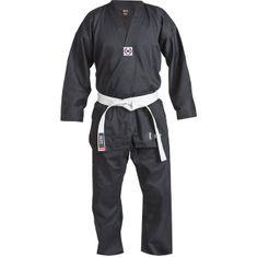 Blitz Dospělé Taekwondo kimono ( Dobok ) BLITZ Polycotton - černé