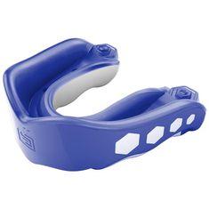 SHOCK DOCTOR Shock Doctor GEL MAX - chránič zubů - modrý S PŘÍCHUTÍ Blue rasperry 6353A