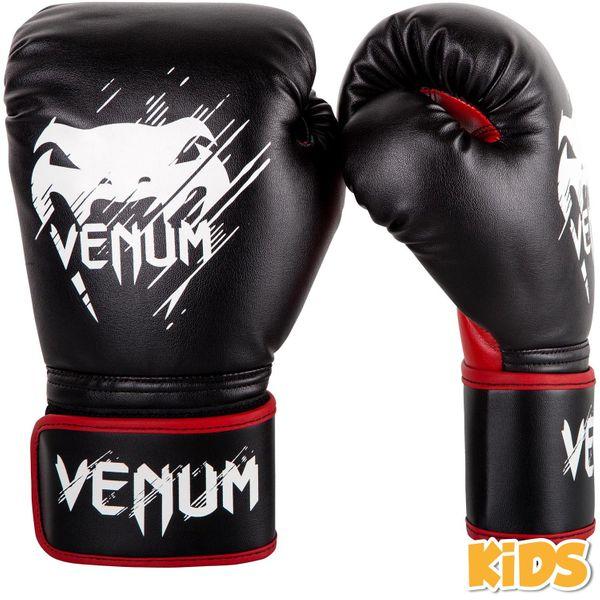 VENUM Dětské Boxerské rukavice VENUM Contender - černo/červené