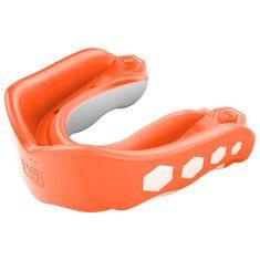 SHOCK DOCTOR Shock Doctor GEL MAX - chránič zubů - oranžový S PŘÍCHUTÍ Orange 6333A