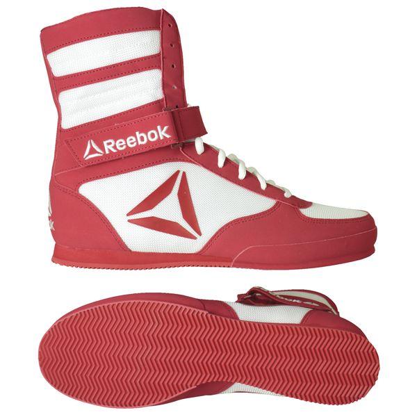 Reebok REEBOK Boxerské boty BOOT - červeno bílé e730e98944e