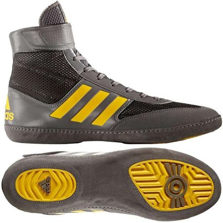 Adidas ADIDAS Zápasnické boty COMBAT SPEED - šedo žluté  5df27690d4